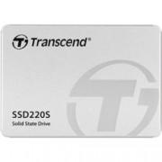 """SSD 120GB Transcend SSD220, SATA 6Gb/s, 2.5"""" (6.35 cm), скорост на четене 550MB/s, скорост на запис 450MB/s"""