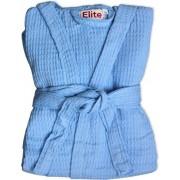 elite Ape - Xl / Azzurro Accappatoio Nido D'Ape 100% Cotone Con Cappuccio Taglia Xl Colore Azzurro - Ape