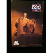 Abraham Lincoln (Lincoln Memorial) 500 Piece Jigsaw Puzzle