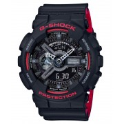 Ceas barbatesc Casio G-Shock GA-110HR-1AER Black&Red Series