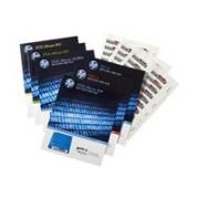HPE Ultrium 6 RW Bar Code Label Pack - Streckkodsetiketter - för