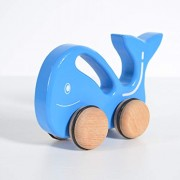 Chitrani Wooden Blue Whale Toy