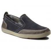Обувки CLARKS - Gosler Race 261325837 Blue Suede