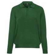 Peter Hahn Polo Achim van 100% scheerwol-merinos Peter Hahn groen