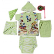Dazzle Born Baby Gift Set for Boys Born Baby Gift Set for boy 8 Piece Set for Infant Boys and Girls New Born Collection