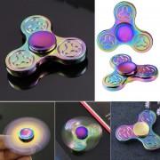 Nuevo Glowing Hand Spinner 360 Tri Fidget Escritorio De Reducción De Estrés EDC Focus Toy Para -Varios Colores
