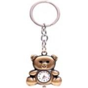 Sophiamax SM555 new Bear with clock key chain Carabiner(Multicolor)