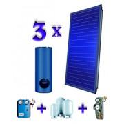 Pachet 3 panouri solare plane Buderus Logasol SKS 4.0