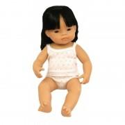 Papusa fetita asiatica 38 cm
