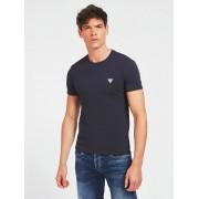 Guess T-Shirt Superstrakke Pasvorm - Blauw - Size: Large