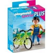 INSTALATORUL CU BICICLETA Playmobil