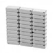 10 * 5 * 3m m iman fuerte rectangular de NdFeB - plata (30PCS)