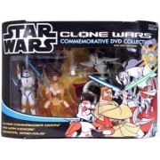 Clone Wars Commemorative 3 Pack Commander Cody, General Grievous and Obi Wan