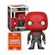 Funko Pop Red Hood SDCC 2018 Summer Convention DC