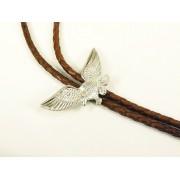 Fonott bőr nyakkendő, repülő sas - amerikai nyakkendő