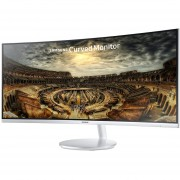 "Monitor Samsung Curvo Ultrawide LC34F791WQ 3440x1440 DisplayPort HDMI USB LED 34""-Blanco."