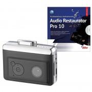 auvisio 2in1-Kassetten-Player zum Digitalisieren mit Audio Restaurator Pro 10