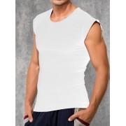 Doreanse Мужская стильная безрукавка с широкими плечами белого цвета Doreanse For Everyday and Sport 2233с02