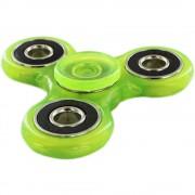 Fidget Spinner fosforescent - verde