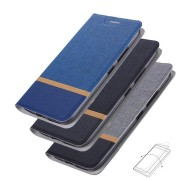 Bakeey Flip Cloth Pattern PU Leather Card Holder Full Body Protective Case for Huawei Mate 20