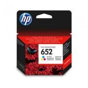 HP 652 színes eredeti tintapatron F6V24AE