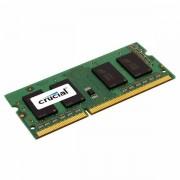 CRUCIAL 2GB 204-PIN DDR3 SODIMM PC3-12800 CT25664BF160B