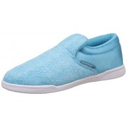 Reebok Classics Women's Court Slip On Crisp Blue and White Loafers and Mocassins - 5 UK/India (38 EU)(7.5 US)