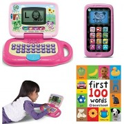 Leapfrog My Own Leaptop, Pink, Chat and Count Smart Phone, Violet, First 100 Words, Kindergarden Pre