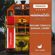 Minimalistic Short Fill 30/60мл - Rolling tobacco, Banana Cherry