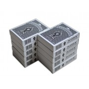 The Ace Card Company Plastic Mini Deck Playing Cards (Purple, Black) - Pack of 12