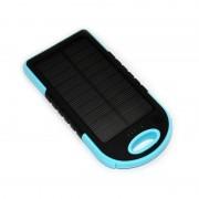 Incarcator solar portabil ES500, 5000 mah, antisoc, lanterna