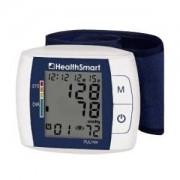 HealthSmart Premium Talking Automatic Wrist Digital Blood Pressure Monitor, White/Dark Blue Part No. 04-895-001 Qty 1