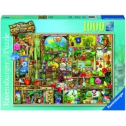 Puzzle dulapul gradinarului, 1000 piese Ravensburger