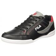Fila Men's Baker II Black/Grey/Red Sneakers - 7 UK/India (41 EU)