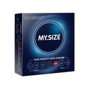 My.size Preservativo my.size 60 di my.syze confezione da 3, 10 e 36 pezzi