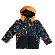 Quiksilver Bunda Quiksilver Little Mission Kids true black ski fun