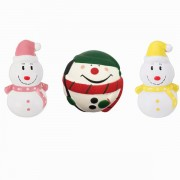 Three Christmas Snowman Squishy Gift Slow Rising Toy With Original Packing Bag