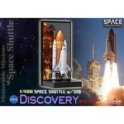 """Dragon Models 1/400 Space Shuttle """"Discovery"""" with SRB STS-124 - Memorable MIssion of Space Shuutle"""