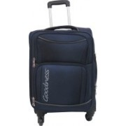 Goodness 20 Inches Spinner Luggage Travel Suitcase Bag -Roam Expandable Check-in Luggage - 23 inch(Blue)