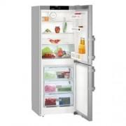 GARANTIE 4 ANI Combina frigorifica Liebherr, congelator NoFrost, clasa A++, usi inox CNef 3115