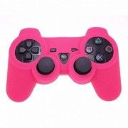 Generic High Quality Luminous Glow In Dark Anti-Slip Silicone Protector Case Cover Skin For Ps3 Game Controller