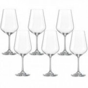 Pahar BOHEMIA CRISTAL SIESTA pentru vin apa set 6 buc 400ml