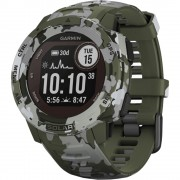 Smartwatch Instinct Solar Camo Edition GPS Lichen Kaki GARMIN
