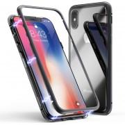 Funda para Iphone Xs Max Jyx Accesorios Magnética Bumper Aluminio - Negro