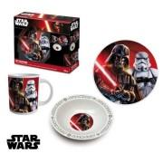 Set mic dejun 3 piese ceramica Star Wars