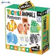 Taktilna igra sa životinjama - Montesori igra 1+