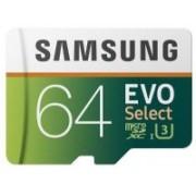 Samsung EVO 64 GB MicroSDXC Class 10 100 MB/s Memory Card