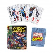 Paladone Products Marvel Playing Cards Comic Book Designs