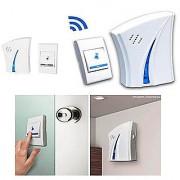 Rv Marketing - Smart Cordless Wireless Calling Remote Door Bell for Home Shop Office (Multi-Design Multi-Colour)