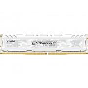 Модуль памяти Crucial Ballistix Sport LT White DDR4 UDIMM 2666MHz PC4-21300 CL16 - 4Gb BLS4G4D26BFSC